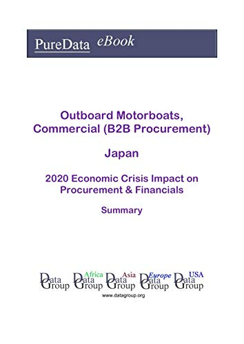 Outboard Motorboats, Commercial (B2B Procurement) Japan Summary: 2020 Economic Crisis Impact on Revenues & Financials (English Edition)
