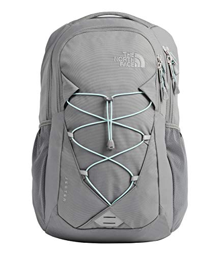 The North Face Women's Jester Backpack, Zinc Grey/Windmill Blue, One Size