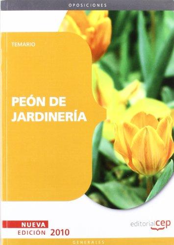 Peón de Jardinería. Temario (Colección 92)