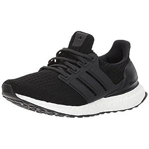 adidas Women's Ultraboost w Road Running Shoe, Core Black/Core Black/Core Black, 6 M US