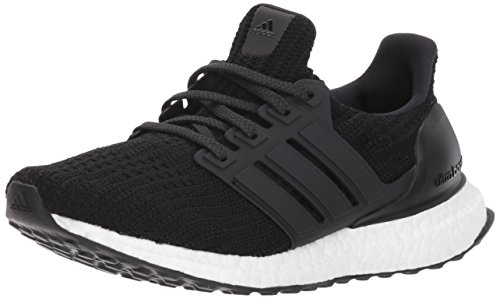 adidas womens Ultraboost Road Running Shoe, Black/Black/Black, 9 US
