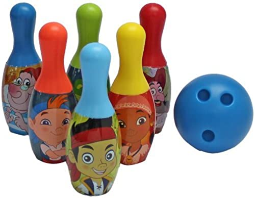 What Kids Want Jake and The Never Land Pirates Licensed Bowling Set by What Kids Want