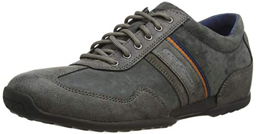 camel active Space, Herren Low-top, Grau (Anthracite 31), 43 EU (9 UK)