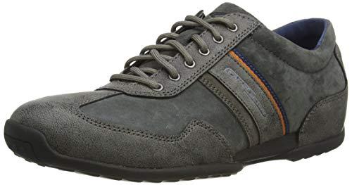 camel active Herren Space Sneaker, Grau (Anthracite 31), 43 EU