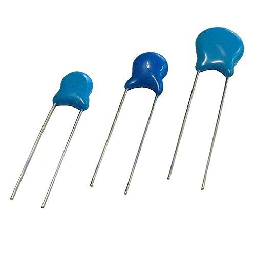 Pack of 10, High Voltage Ceramic Disk Capacitor 1000V (1KV) 100pf (101) 0.1nF