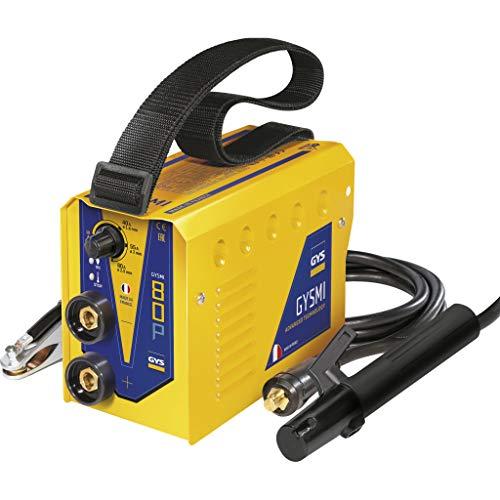GYS Inverter-Schweissgerät GYSMI-80P - Lichtbogen-Schweißmaschinen für Gleich- und Wechselstrom (2,5 kg)