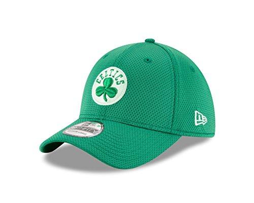 NBA Boston Celtics Adult Tone Tech Redux OTC 39THIRTY Stretch Fit Cap, Medium/Large, Kelly