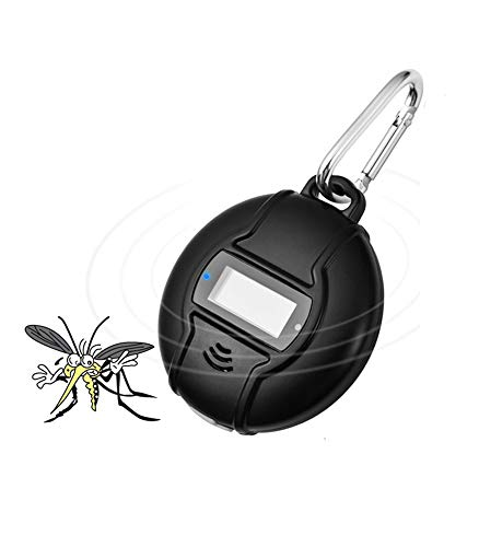 LVYE1 MRMF Mosquito Killer Portátil Anti-Mosquito Bracer Mosquito Repelente Ultrasónico De Plagas con Energía Solar Y USB Repelente De Mosquitos Al Aire Libre