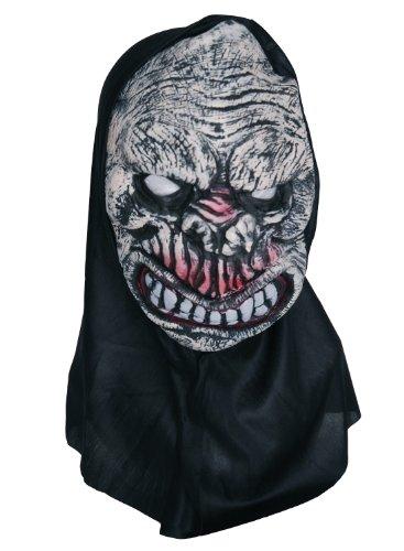 Zombie caoutchouc Masque visage Rose/blanc