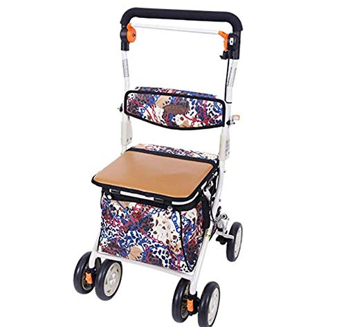 Lolobeauty Walker Ancianos Movilidad portátil