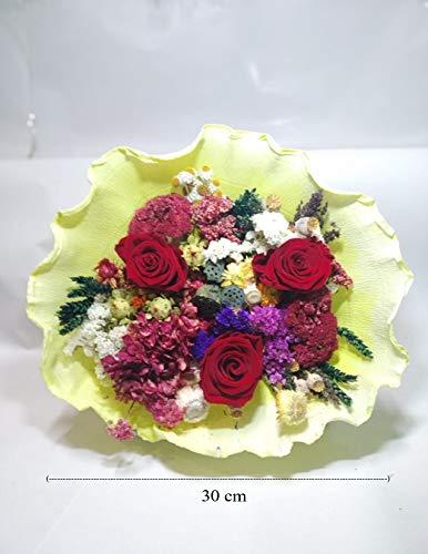 almaflor Ramo de Rosas eternas Rojas y Flores preservadas. Gratis TU ENVÍO Prime. Rosas eternas Rojas y Flores preservadas. Hecho en España.