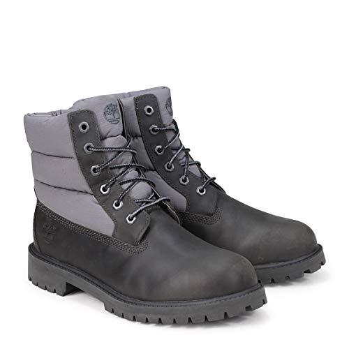 [ティンバーランド] JUNIOR 6-INCH PREMIUM QUILT BOOTS ブーツ 6インチ A1UYX Mワイズ ダークグレー US3.5-22.0