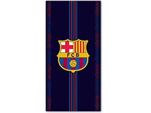 FCB FC Barcelona Strandtuch - Beach Towel - Serviette de Plage - Toalla de Playa - telo Mare FCB192024-R
