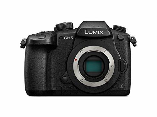 """Panasonic Lumix DC-GH5 - Cámara EVIL de 20.3 MP, Pantalla de 3.2"""", Visor OLED, Estabilizador Dual I.S. 2 5 Ejes, 4K, Wi-Fi, Bluetooth"""
