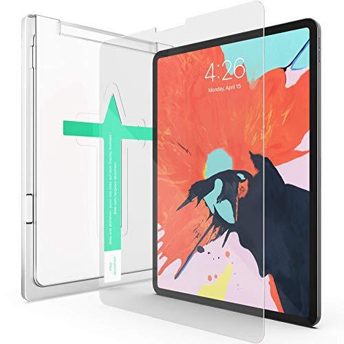 XeloTech Schutzglas kompatibel mit iPad Pro 11 Zoll (2020 und 2018) - Mit Schablone für Positionierung - Für iPad-Modelle A1980, A2013, A1934, A2228, A2068, A2230