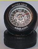 Unbekannt felgen Felgenuhr 8,5 Cm Uhr Wecker 2 Reifen Reifenuhr -