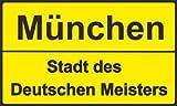 FRIP MÜNCHEN STADT des DEUTSCHEN MEISTERS Fahne 1,50 x 0,90m Flagge Fahnen mit 2 Ösen