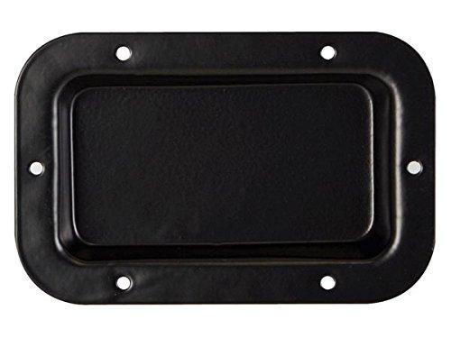 HQ Power Terminal Board Soporte de Altavoz Metal Negro - Soporte para Altavoces (Metal, Negro, 89 mm, 136 mm)