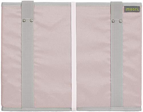 Faltbarer Einkaufskorb Dream Rose/Uni 37x26x28cm stabil abwischbar Polyester rosa geruchsneutral Wochenmarkt Kofferraum Transport Shopping