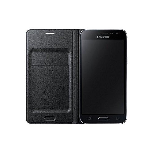 Samsung Flip Wallet Schutzhülle (geeignet für Samsung J3 (2016) ) schwarz