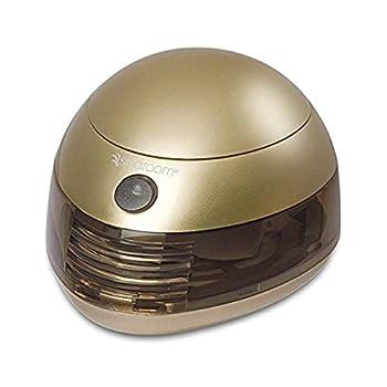 6353 SpaRoom Aromafier Metallic Portable Essential Oil Diffuser Portable USB or Batteries  Gold