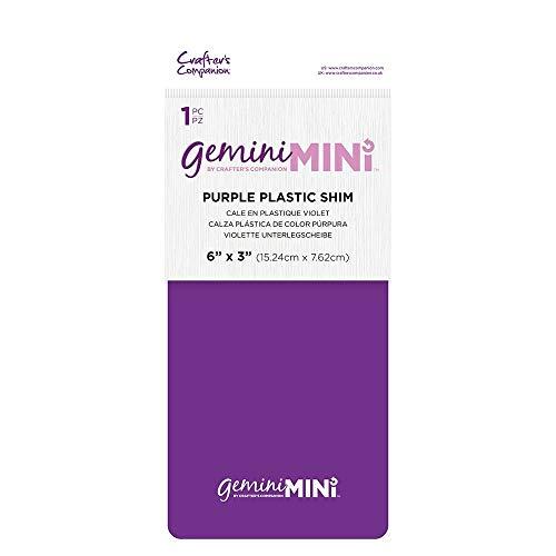 Gemini GEMMINI-ACC-PLASPUR Mini Accesorios de la Máquina de Calza Plástica Púrpura-Purple, 6