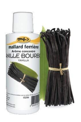 Mallard Ferrière–Flacone aroma Concentrato 115millilitres–Vaniglia Note Bourbon