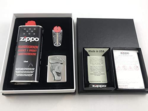 Zippo Poker Full House - Geschenk Set Feuerzeug Trick Poker Emblem - 60003270