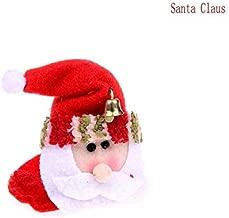 Pendant & Drop Ornaments - Christmas Cup Mat Santa Claus Snowman Elk Party Household Round Coasters Decoration - Cake Xmas 11 Ladder Christmas Christmas Year Chrismas & Noel Decor Xmas Xmas