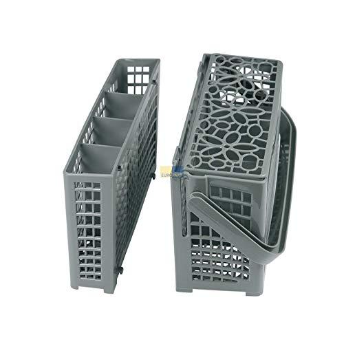 LUTH Premium Profi Parts - Cesta de Cubiertos Divisible Universal para lavavajillas | Compatible con AEG Electrolux Bosch Bauknecht 1525593008