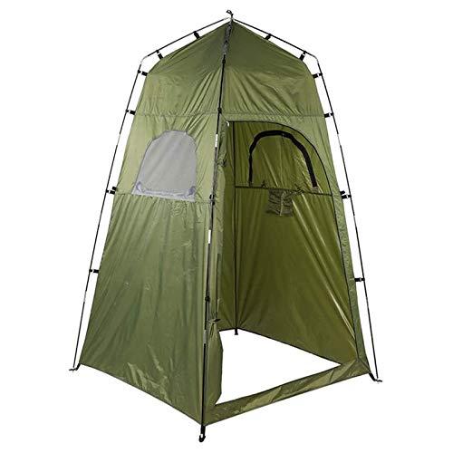 OVBBESS Tienda de ducha totalmente automática de apertura rápida plegable tienda de ducha para acampar al aire libre Camping playa ducha de inodoro