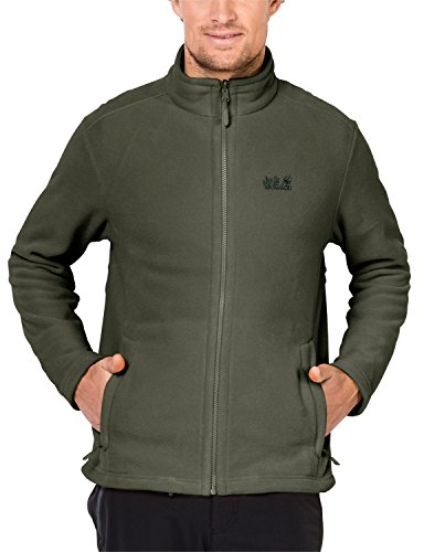 Jack Wolfskin Moonrise Jacket Fleecejacke, Woodland Green, S