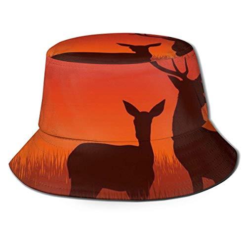 Sombrero de Pescador de Camping con Cierre de Cremallera de Lacrosse, Sombrero para el Sol Sombrero de Cubo de protección Solar de Ocio Unisex