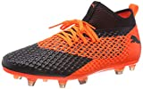 Puma Future 2.2 Netfit FG/AG, Zapatillas de Fútbol para Hombre, Negro Black-Shocking...