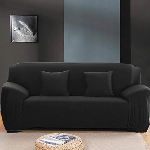 WXQY Fundas Antideslizantes elásticas de Color sólido Funda de sofá Antideslizante Funda de sofá para Mascotas Esquina en Forma de L Funda de sofá Antideslizante A4 1 Plaza