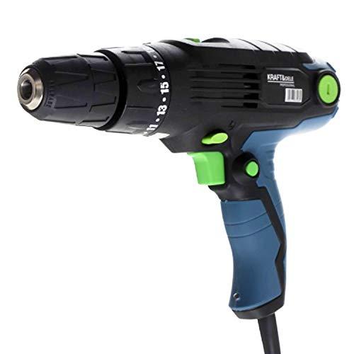 Netz Bohrschrauber Netzschrauber 880W LED 30 Nm Bohrfutter 10 mm (KD1673-Z)