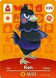 Ken - Nintendo Animal Crossing Happy Home Designer Amiibo Card - 225