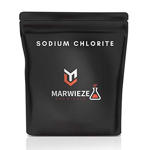 Marwieze Chemicals - Sodium Chlorite -80% Flakes, Tech Grade (2.2 Pound)