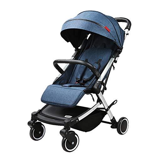 All Terrain Buggy Lichtgewicht kinderwagen reisbuggy kinderbuggy – met ligfunctie inklapbaar – voor kinderen vanaf 6 maanden tot 25 kg – ideaal voor vliegtuig – vijfpunts riem – uv-beschermluifel