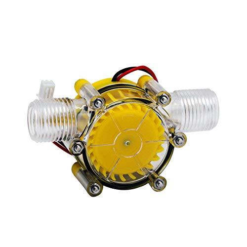 Generatore A Turbina Ad Acqua 10W Micro Alimentatore Idroelettrico A LED DC Alimentatore A Corrente Alternata A 12 V Micro-Hydro Strumento Di Ricarica Acqua Giallo