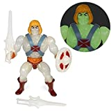 Super7 Figura He-Man 14 cm. Masters del Universo. GITD (Glow in The Dark). Motu Vintage Collection. ...