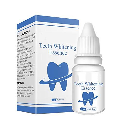 Raburt Teeth Whitening Essence Liquid Oral Hygiene Cleaning Remove Stain Brighten Tooth