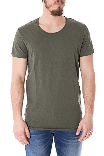 JACK & JONES Herren Regular Fit t-Shirt Jorbas Tee Crew Neck 12115979 XS Grã¼n
