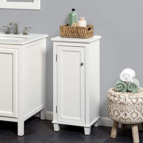 Zenna Home Custom Suite Customizable Storage, White Linen Cabinet