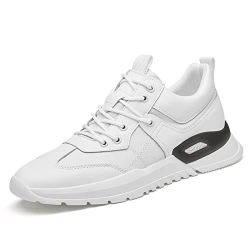 Ys-s Personalización de la tienda Fashion clunky zapatillas de deporte para hombres de cuero sin edición de cuero del pie del dedo del pie del pie de los zapatos del papá Pull Tap Tap Slip Resistant A