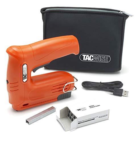 Tacwise 1564 Hobby 53-13EL Cordless 4V Nail Gun with 2000pcs Staples...