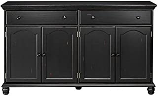 Home Decorators Collection Harwick Black Credenza Sideboard Buffet Table 35