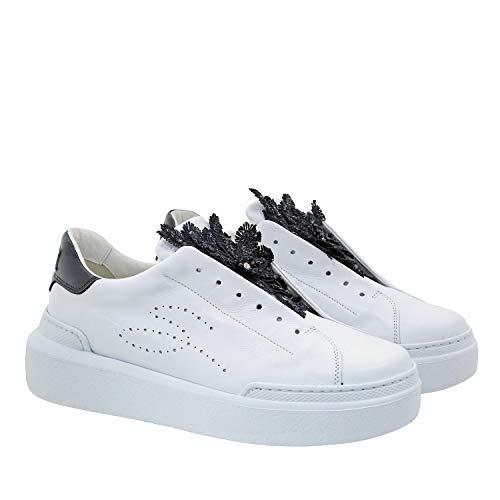 Sneakers Rodi, 37, Bianco/Nero