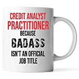 N\A Taza de Hierro Venus Practitioner - Regalos Divertidos para analistas de crédito - Apreciación de los analistas de crédito Regalos de Agradecimiento para el Analista de crédito Cerámica (Blanco,)