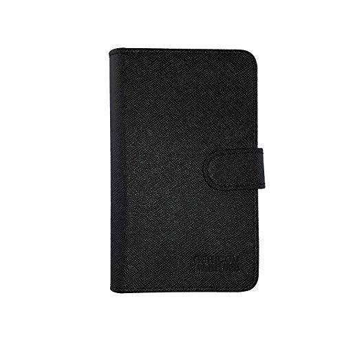 GC-TECH® Etui für JUUL die geniale Tasche Case für e-Zigarette JUUL-pods Kreditkarte USB Ladestation (schwarz)